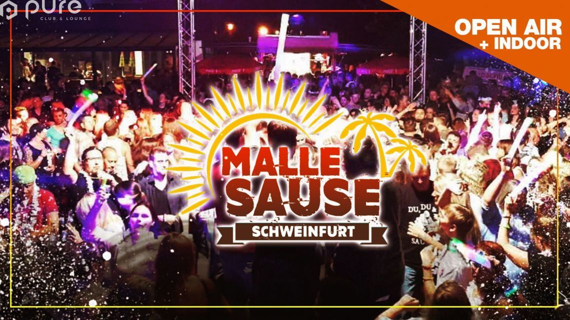 Malle Sause - Die Sommerparty Open Air & Indoor