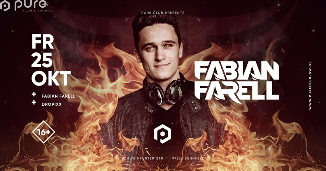 Pure Club presents Fabian Farell