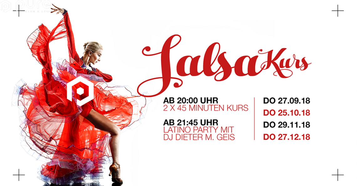 Salsa Kurs und Latino Party